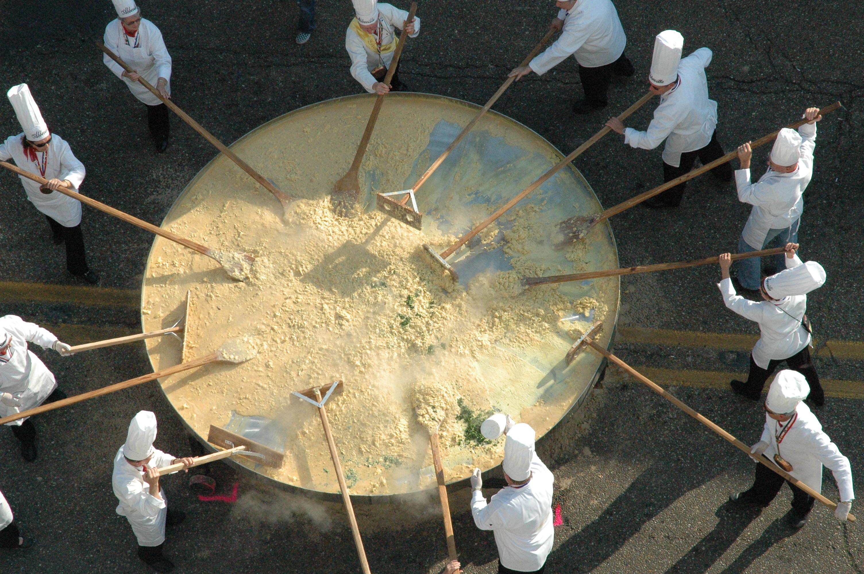 Abbeville's Giant Omelette Celebration